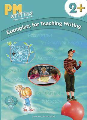 Cover of PM Writing : Level 2 Exemplars for Teaching Writing Plus with CD-ROM - 9780170187817