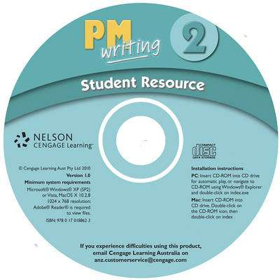Cover of PM Writing : Level 2 : Student Resource CD-ROM - Annette Smith - 9780170188623