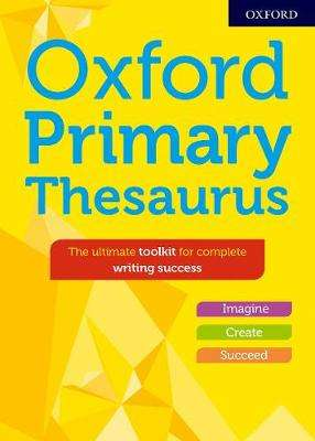 Cover of Oxford Primary Thesaurus - Susan Rennie - 9780192767172
