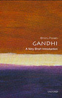 Cover of Gandhi : A Very Short Introduction - B.C. Parekh - 9780192854575