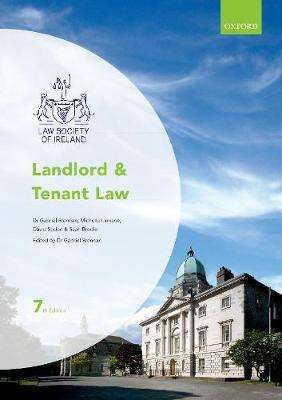 Cover of Landlord and Tenant Law : Law Society of Ireland - Gabriel (Solicitor and Lecturer Brennan - 9780198788119
