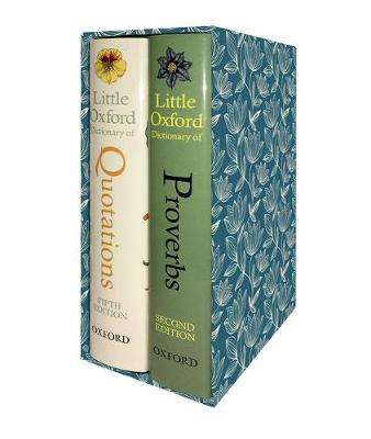 Cover of The Little Oxford Gift Box - Susan Ratcliffe - 9780198808862