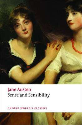 Cover of Sense and Sensibility - Oxford World Classics - Jane Austen - 9780199535576