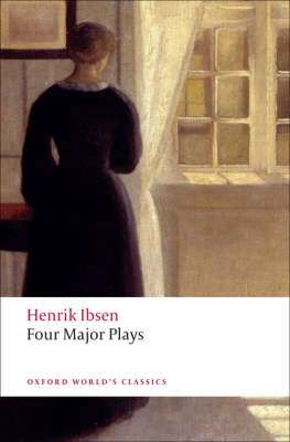 Cover of Four Major Plays - Henrik Ibsen - 9780199536191