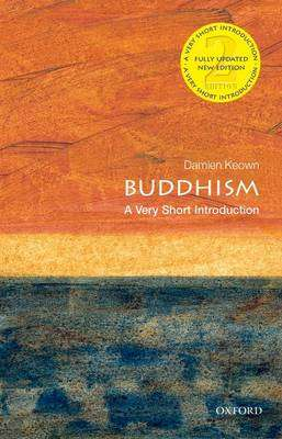 Cover of Buddhism: A Very Short Introduction - Damien Keown - 9780199663835