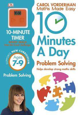Cover of 10 Minutes A Day Problem Solving Ages 7-9 - Carol Vorderman - 9780241183861