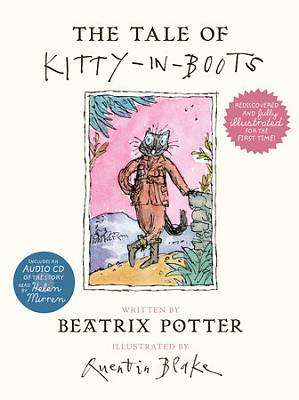 Cover of Tale of Kitty-in-Boots (Incl CD) - Beatrix Potter - 9780241249444