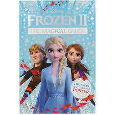 Cover of Disney Frozen 2 The Magical Guide: Includes Poster - DK - 9780241357675