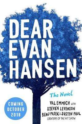 Cover of Dear Evan Hansen - Val Emmich - 9780241361870