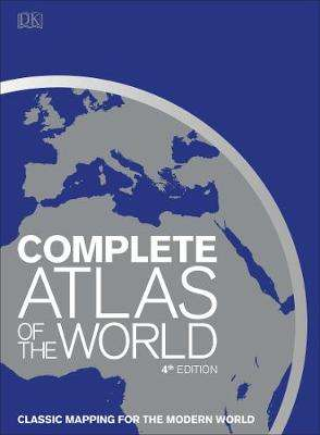 Cover of Complete Atlas of the World - DK - 9780241365977