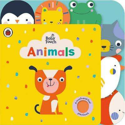 Cover of Baby Touch: Animals Tab Book - Lemon Ribbon Studio - 9780241379141