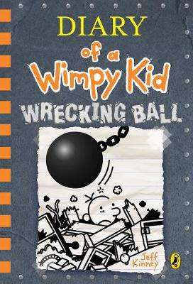 Cover of Diary of a Wimpy Kid: Wrecking Ball - Jeff Kinney - 9780241396636