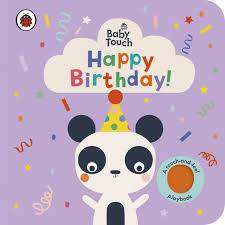 Cover of Baby Touch: Happy Birthday! - 9780241406953