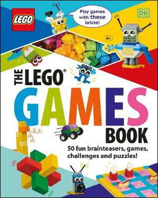 Cover of The LEGO Games Book: 50 fun brainteasers, games, challenges, and puzzles! - Tori Kosara - 9780241409466