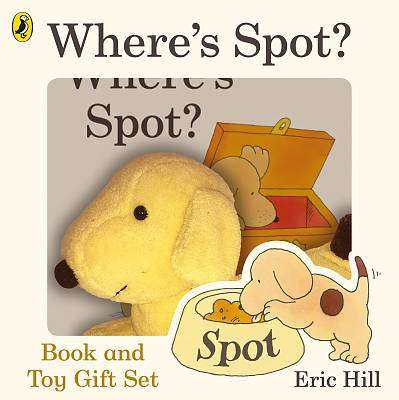 Cover of Spot Book & Toy - Eric Hill - 9780241411780