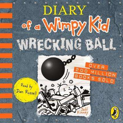 Cover of Diary of a Wimpy Kid: Wrecking Ball (Book 14) CD - Jeff Kinney - 9780241415443