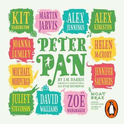 Cover of Peter Pan: Brought to life by magical storytellers - J M Barrie - 9780241424629