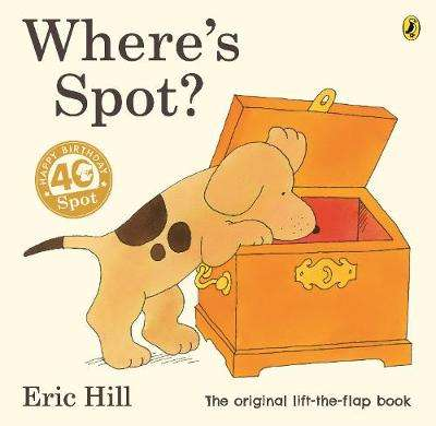 Cover of Where's Spot? - Eric Hill - 9780241426128