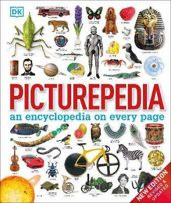 Cover of Picturepedia: an encyclopedia on every page - DK - 9780241426371
