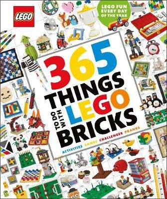 Cover of 365 Things to Do with LEGO (R) Bricks - DK - 9780241427989
