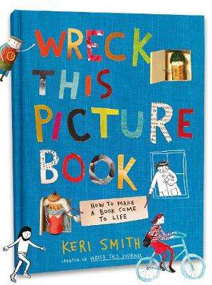 Cover of Wreck This Picture Book - Keri Smith - 9780241449455