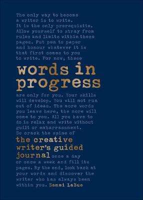 Cover of Words In Progress - Sammi LaBue - 9780241460504
