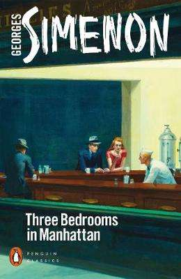 Cover of Three Bedrooms in Manhattan - Georges Simenon - 9780241461563