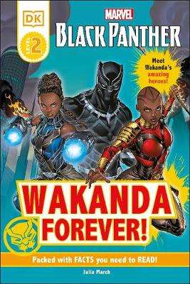Cover of Marvel Black Panther Wakanda Forever! - Julia March - 9780241500811