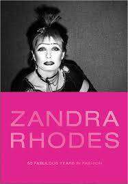 Cover of Zandra Rhodes: 50 Fabulous Years in Fashion - Dennis Nothdruft - 9780300244304