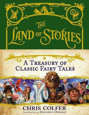 Cover of Land of Stories Treasury - Chris Colfer - 9780316355919