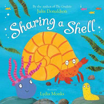 Cover of Sharing a Shell : Big Book - Julia Donaldson - 9780330511278