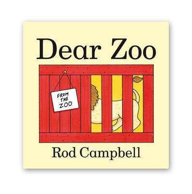 Cover of Dear Zoo : Big Book - Rod Campbell - 9780330516891