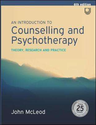 Cover of An Introduction to Counselling and Psychotherapy:Theory, research and practice - John Mcleod - 9780335243198