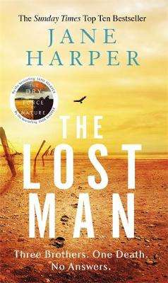 Cover of Lost Man - Jane Harper - 9780349142135