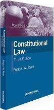 Cover of Round Hall Nutshells Constitutional Law 3rd Edition - Dr Fergus Ryan - 9780414060975
