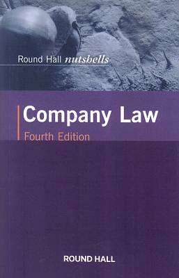 Cover of Round Hall Nutshells Company Law 4th Edition - 9780414065093