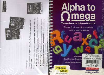 Cover of Alpha To Omega Pack Teachers Book & Student Book 6th Edition - Beve Hornsby & Frula Shear & Julie Pool - 9780435125929