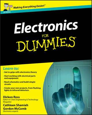 Cover of ELECTRONICS FOR DUMMIES - Dickon Ross - 9780470681787