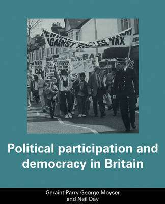 Cover of POLITICAL PARTICIPATION AND DEMOCRA - Parry Geraint - 9780521336024