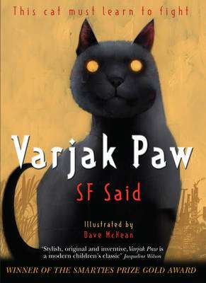 Cover of Varjak Paw - S. F. Said - 9780552572293