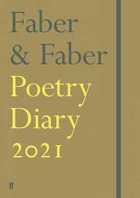 Cover of Faber & Faber Poetry Diary 2021 - Various Poets - 9780571356089