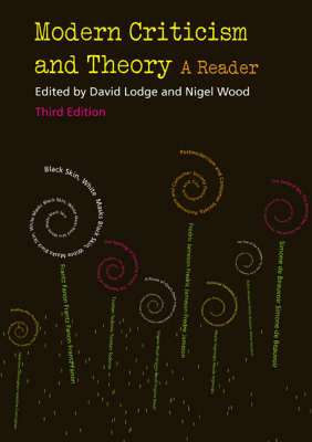 Cover of Modern Criticism And Theory 3rd Edition - Nigel Wood & David Lodge - 9780582784543