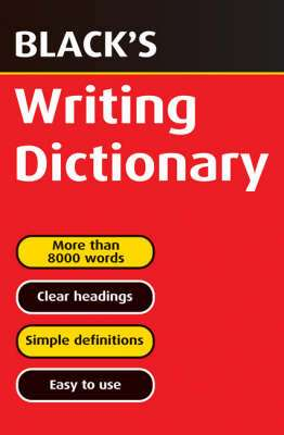 Cover of Black's Writing Dictionary - T.J. Hulme & T.F. Carmody & J. A. Hulme - 9780713665123