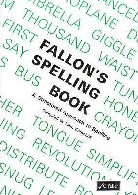 Cover of Fallon's Spelling Book - Liam Campbell - 9780714410418
