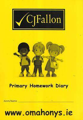 Cover of CJ Fallon Primary Homework Diary - CJ Fallon - 9780714414928