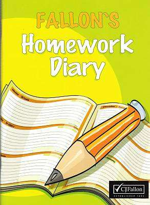 Cover of Fallon's Homework Diary - CJ Fallon - 9780714415901
