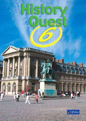 Cover of History Quest 6 - CJ Fallon - 9780714416106
