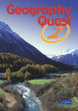 Cover of Geography Quest 2 - CJ Fallon - 9780714416465