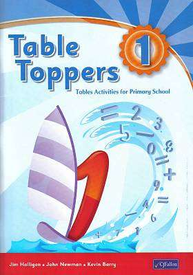 Cover of Table Toppers 1 - Jim Halligan & John Newman & Kevin Barry - 9780714417134