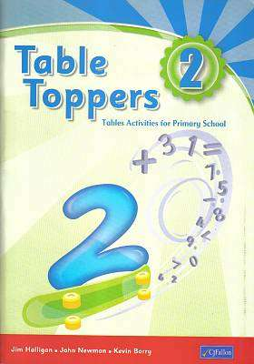 Cover of Table Toppers 2 - Jim Halligan & John Newman & Kevin Barry - 9780714417141